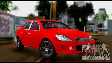 DeClasse Premier from GTA 5 IVF для GTA San Andreas