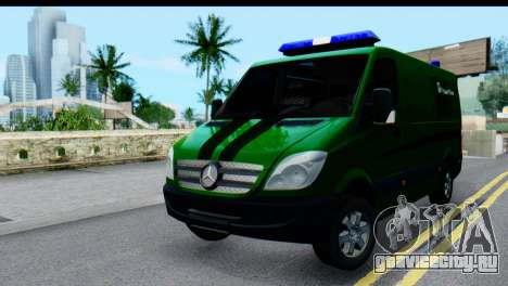 Mercedes-Benz Sprinter ПриватБанк для GTA San Andreas