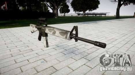 Винтовка M16A2 [optical] yukon для GTA 4