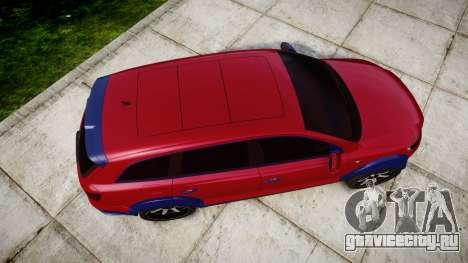Audi Q7 2009 ABT Sportsline для GTA 4 вид справа