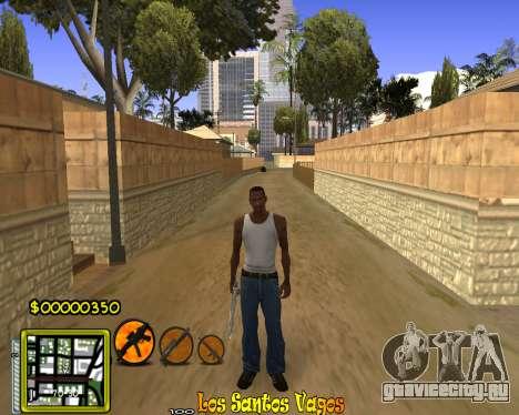 C-HUD Vagos Gang для GTA San Andreas третий скриншот