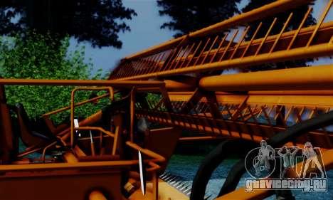 FMZ BIZON Super Z056 1985 Orange для GTA San Andreas вид справа