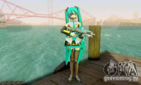 Hatsune Miku Dreamy Theater для GTA San Andreas второй скриншот