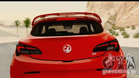 Vauxhall Astra VXR для GTA San Andreas вид сверху