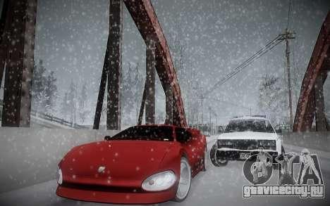Зимний ENBSeries для GTA San Andreas четвёртый скриншот