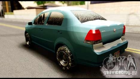 GTA 5 Asea для GTA San Andreas