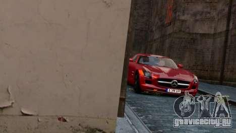 Mercedes-Benz SLS AMG 2011 [EPM] для GTA 4 вид справа
