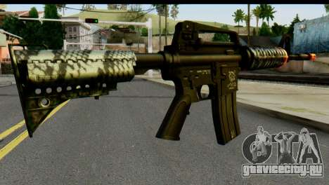 Kill Em All M4 для GTA San Andreas второй скриншот