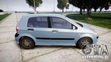 Hyundai Getz 2006 for ENB для GTA 4 вид слева