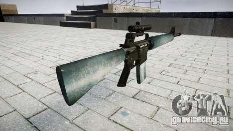 Винтовка M16A2 [optical] icy для GTA 4 второй скриншот
