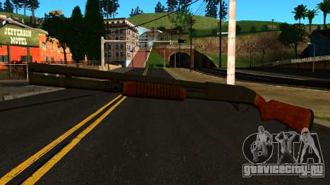 Деревянный MP-133 Без Блеска для GTA San Andreas