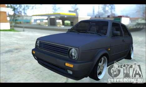 VW Golf MK2 для GTA San Andreas