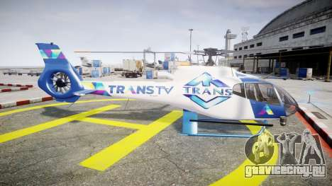 Eurocopter EC130 B4 TRANS TV для GTA 4 вид слева