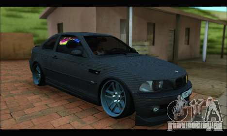 BMW M3 E46 Carbon для GTA San Andreas