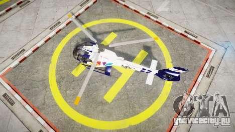 Eurocopter EC130 B4 NBC для GTA 4 вид справа