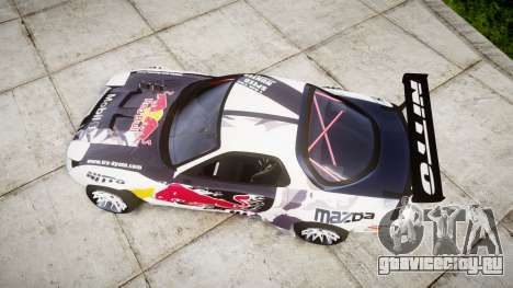 Mazda RX-7 Rocket Bunny MadMake для GTA 4 вид справа