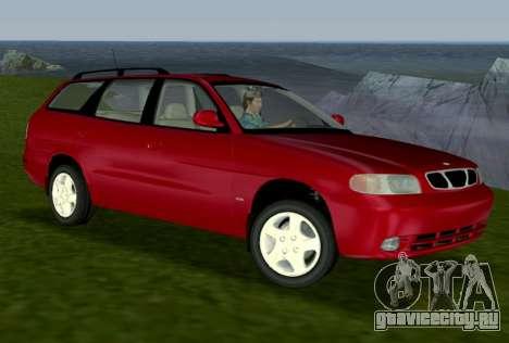 Daewoo Nubira I Wagon CDX US 1999 для GTA Vice City