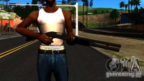 Чёрный MP-133 Без Блеска для GTA San Andreas третий скриншот