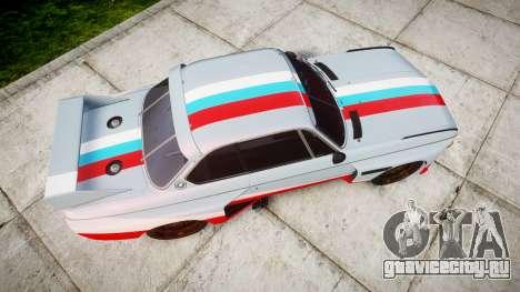 BMW 3.0 CSL Group4 для GTA 4 вид справа