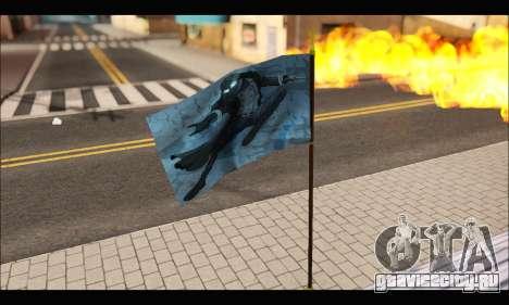 Flag Spiderman Noir для GTA San Andreas третий скриншот
