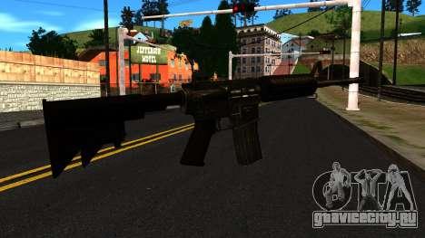 M4 from GTA 4 для GTA San Andreas второй скриншот
