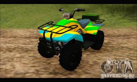 ATV Color Camo Army Edition для GTA San Andreas