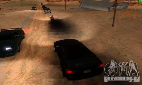 Новые маршруты транспорта для GTA San Andreas восьмой скриншот