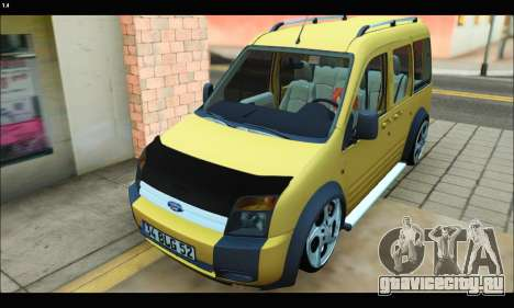 Ford Transit Connect для GTA San Andreas