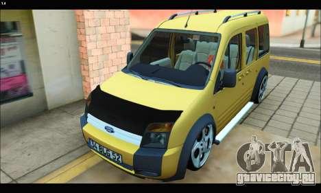 Ford Transit Connect для GTA San Andreas