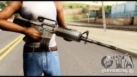M4 from Metal Gear Solid для GTA San Andreas третий скриншот