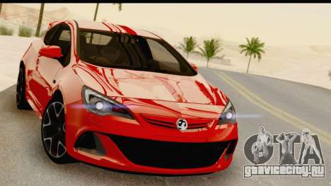 Vauxhall Astra VXR для GTA San Andreas