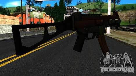 UMP9 from Battlefield 4 v2 для GTA San Andreas второй скриншот