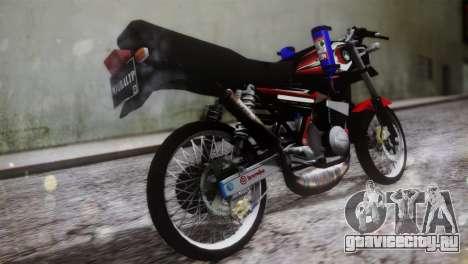 Yamaha RX King для GTA San Andreas вид слева