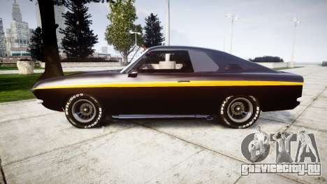Opel Manta A Black Magic для GTA 4 вид слева