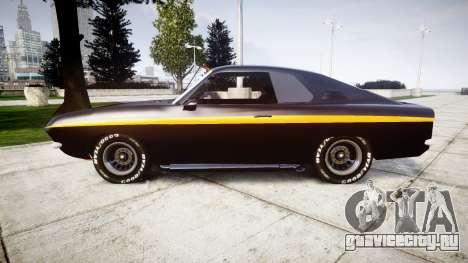 Opel Manta A Black Magic для GTA 4 вид слева