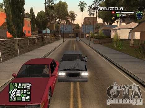 CLEO HUD by SampHack v.20 для GTA San Andreas