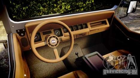 Jeep Wrangler 1988 для GTA 4 вид сзади