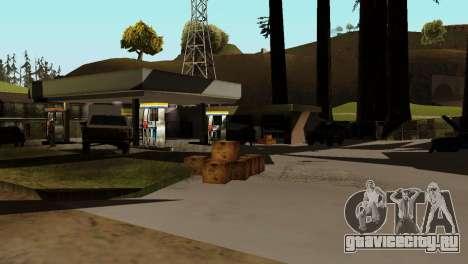 Оживление заправок San Fierro Country для GTA San Andreas четвёртый скриншот
