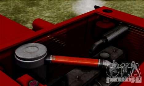 FMZ BIZON Super Z056 1985 Red для GTA San Andreas вид изнутри