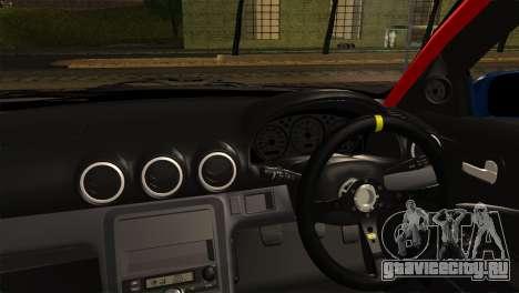 Nissan Silvia S15 DC Hunter для GTA San Andreas вид сзади слева
