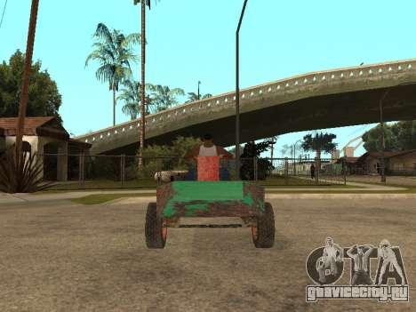 Бомжмобиль для GTA San Andreas