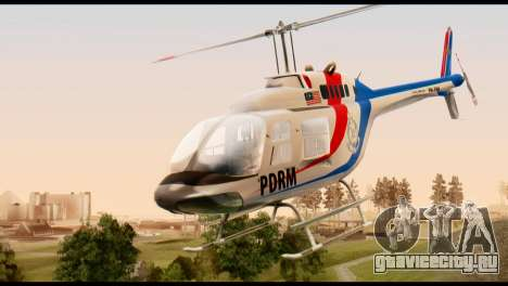 Malaysian Polis Helicopter Eurocopter Squirrel для GTA San Andreas
