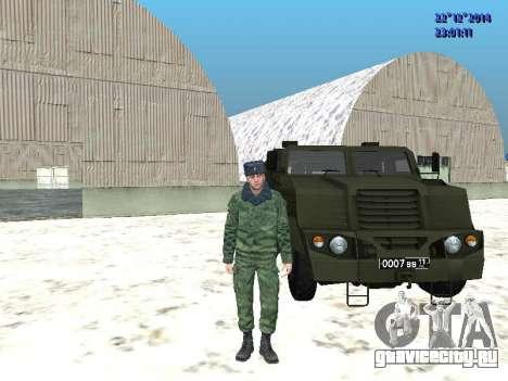 ВПК-3924 Бронетранспортёр Медведь для GTA San Andreas вид слева