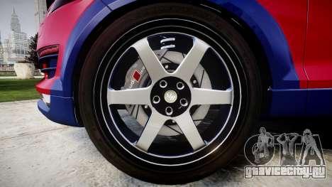 Audi Q7 2009 ABT Sportsline для GTA 4 вид сзади