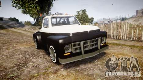 Vapid Towtruck Restored striped tires для GTA 4