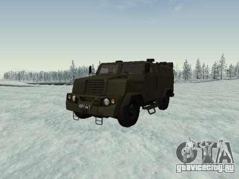 ВПК-3924 Бронетранспортёр Медведь для GTA San Andreas