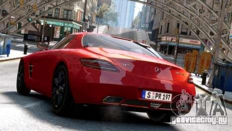 Mercedes-Benz SLS AMG 2011 [EPM] для GTA 4 вид сзади слева