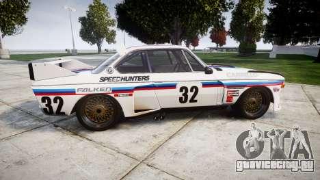 BMW 3.0 CSL Group4 [32] для GTA 4 вид слева