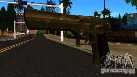 Desert Eagle from GTA 4 для GTA San Andreas