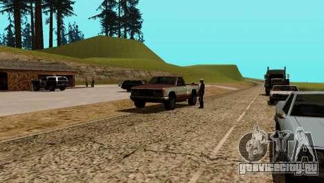 Оживление заправок San Fierro Country для GTA San Andreas девятый скриншот